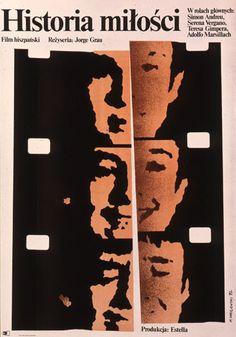 Historia miłości, plakat filmowy, 1972