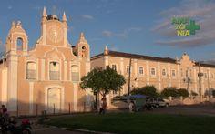 Cametá, Pará, Brasil - igreja e colégio Nossa Senhora das Mercês