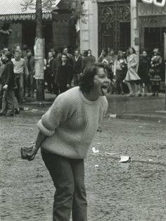 Mai 68 Paris via Patricia S. Old Photos, Vintage Photos, Boulevard Saint Germain, Mai 68, Foto Blog, Paris Ville, Vintage Photography, Film Photography, Street Photography