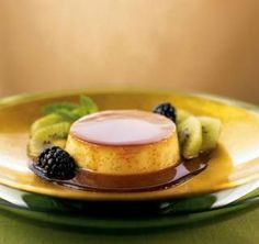Sweet caramel flan is the perfect finish for your tapas party.