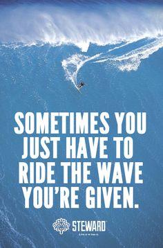 Sam Suffit sur son surf ! WAVE pic on Design You Trust