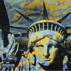 Artistic Liberties: 15 Faces of the Statue of Lady Liberty Andy Warhol Museum, Andy Warhol Pop Art, Art For Art Sake, Museum Of Fine Arts, Our Lady, American Artists, Liberty, Street Art, My Arts