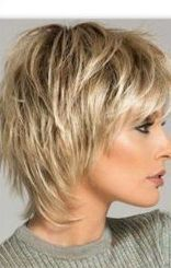 Image result for short haircuts for women over 50 #hairstylesforthinhai …- No … – Beste Kapsels Over 50, Pink Makeup, Short Hair Cuts For Women, Image