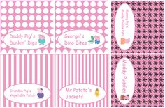 Food tents--- http://www.thepurplepumpkinblog.co.uk/2016/02/peppa-pig-party-ideas-free-printables.html?utm_source=Daily+Newsletter&utm_campaign=4374ddef8a-Daily+Blog+Digest&utm_medium=email&utm_term=0_1b675d6ac8-4374ddef8a-124370525