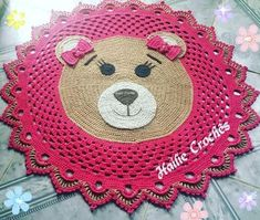 Baby Knitting Patterns, Crochet Patterns, Crochet Carpet, Baby Rattle, Crochet Doilies, Crochet Baby, Nursery Decor, Baby Shower Gifts, Diy And Crafts