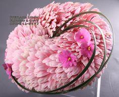 glamelia - composite flowers or fantasy flowers - wedding bouquets designed by Svetlana Lunin