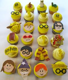 Potter Puppet Pals cupcake toppers... genius!