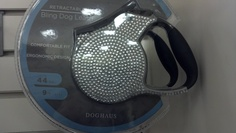 Part of me really wants this rhinestone retractable dog leash