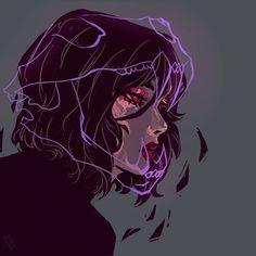 Anime Art Aesthetic – Art World 20 Art Anime, Anime Art Girl, Dark Anime Girl, Manga Art, Cartoon Kunst, Cartoon Art, Dark Fantasy Art, Pretty Art, Cute Art