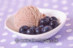 Eis-Rezept: Heidelbeereis selbst machen