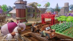 #DISNEYINFINITY TRIVIA! How many #Disney movies are shown in this Toy Box snapshot? Think 9
