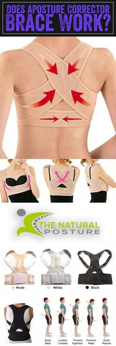 Should you or should you not wear a back posture brace to fix your back posture? Does posture braces work? Posture Braces and Posture Correctors can speed up your posture correction journey. Natural Cure For Arthritis, Types Of Arthritis, Health And Beauty, Health And Wellness, Health Fitness, Ropa Interior Boxers, Mode Simple, Yoga Beginners, Back Exercises