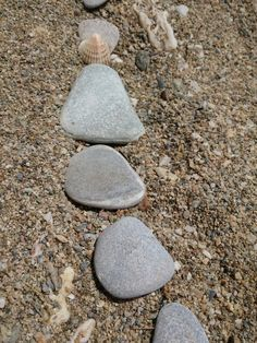 Stones Stones, Outdoor Decor, Stuff To Buy, Home Decor, Rocks, Stone, Interior Design, Home Interior Design, Home Decoration