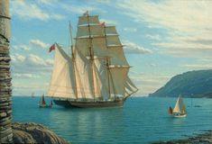 Nautical Art, Tall Ships, Far Away, Sailing Ships, 18th Century, Boat, History, Concept, San Juan