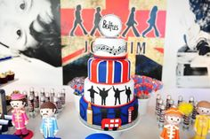 This BEATLES THEMED BIRTHDAY PARTY featured on Kara's Party Ideas- www.KarasPartyIdeas.com, will blow you away! So, so fun!