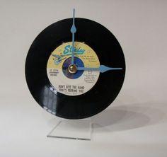 Record Desk Clock olyteam | Laurel's Art