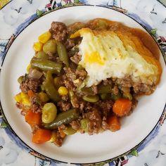Made that Shepherd Pie 🥧🥧🥧🥧 The family really like it. #shepherdpie #beef #vegetables #potatoes #pie #dinner #family #bemaifoodie