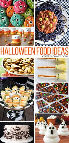 I love these Halloween food ideas! If there were more hours in a day, I would make all of them!