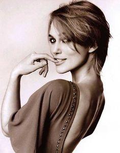 Keira Knightley cute short hair