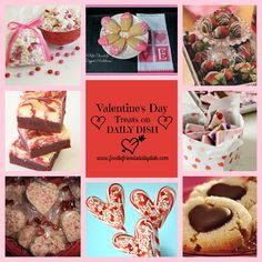 We have some GREAT recipes and treats to share with you to make this Valentine's Day even sweeter for you and your loved ones...   Daily Dish with Foodie Friends Friday