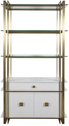 Vanguard Furniture: P220BC Wallace Bookcase
