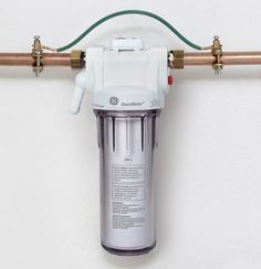 Installation tip for whole home water filtration system