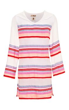 Zema Striped Gauze Hoodie by Lemlem - Moda Operandi Lemlem, Vacation Wardrobe, Cali Girl, High End Fashion, Pretty Outfits, Latest Fashion Trends, Pink Ladies, Clothes For Women, Hoodies