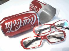 Reuse Coke Cans- Make Coke Can Eyewear