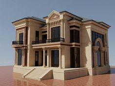 Home Building Design, Home Design Plans, Building A House, Bungalow House Design, House Front Design, Classic House Design, Modern House Design, Luxury House Plans, Dream House Plans