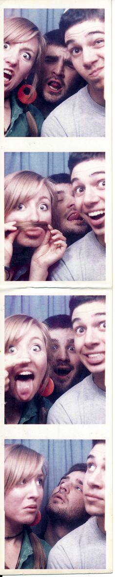 Vick + Eric + Quin-Santa Monica Photo booth...