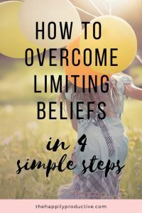 Do you have trouble believing in yourself? Or feel like you're not good enough? Limiting beliefs can keep you from being successful. Without knowing it, you're self-sabotaging and failing. Discover 4 steps to recognise and overcome limiting beliefs! Belief Meaning, Getting Him Back, Negative Self Talk, Motivational Quotes For Success, Best Blogs, Be Kind To Yourself, Mindful Living, Positive Mindset, Self Confidence