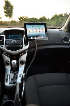 XFLEX iPad Car Stand for easy navigation or passenger movies!
