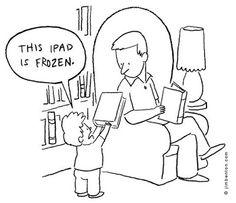 This iPad is frozen!