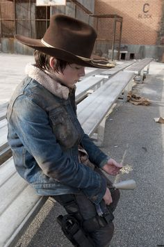 """Carl: """"Welcome To The Tombs""""."""