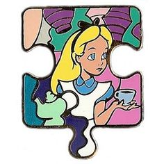 Disney Mystery Pin - Character Connection - Alice In Wonderland