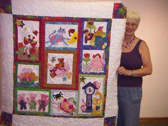 Nursery Rhyme quilt