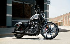 We named it Iron because motorcycles don't get any more elemental than this.   2015 Harley-Davidson Iron 883