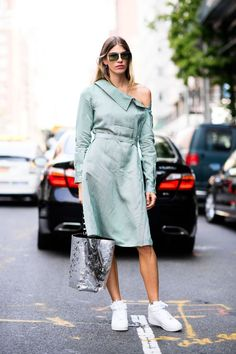 Women Style: The Best Street Style from New York: Spring 2018 - HarpersBAZAAR.com | Check Or Miss Out!
