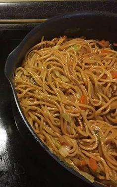 Kínai+sült+tészta Veggie Recipes, Baby Food Recipes, Keto Recipes, Food Baby, Low Carb Keto, Chinese Food, Pasta Dishes, Healthy Life, Side Dishes