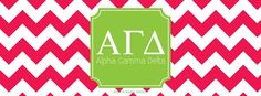 Alpha Gamma Delta Facebook Cover
