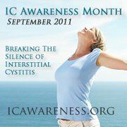 September is Interstitial Cystitis Awareness Month