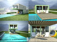 INFINISKI shipping container architecture