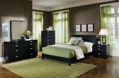 Metro Black Platform Bedroom Package - Value City Furniture Black Bedroom Sets, Bedroom Green, Dream Bedroom, Bedroom Colors, Home Bedroom, Master Bedroom, Bedroom Decor, Bedroom Ideas, Bedroom Furniture