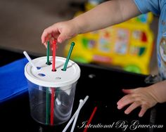 Indoor toddler activities - Perfect for while the older kids are doing school