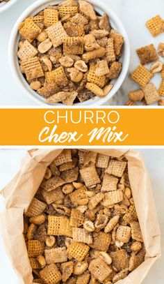 Churro Chex Mix Recipe from Family Fresh Meals Mexican Food Recipes, Dog Food Recipes, Snack Recipes, Top Recipes, Family Fresh Meals, Easy Family Meals, How Sweet Eats, Sweet And Spicy, Chex Mix Ingredients