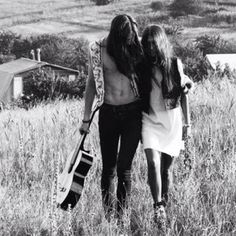 Hippie fields of wheat and love.