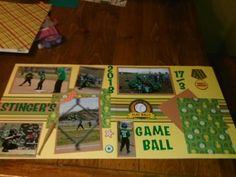 game ball - Scrapbook.com