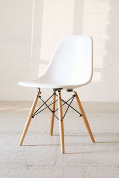 Modernica Side Shell Chair ----------------- http://www.urbanoutfitters.com/urban/catalog/productdetail.jsp?id=37656246&category=A_FURN_FURNITURE