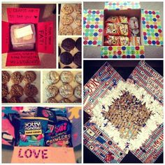 Awesome inspiration for Military Care Packages: http://thestir.cafemom.com/home_garden/157525/10_awesome_military_care_packages?utm_medium=sm_source=pinterest_content=thestir