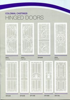 Victoria's most historical, heritage listed period homes use these doors. Traditional Front Doors, Security Door, Barn Doors, Colonial, It Cast, Windows, Home, Barnwood Doors, Ad Home